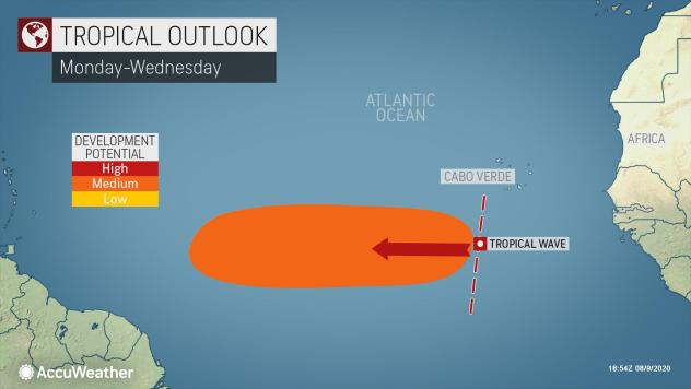 National Hurricane Center: tropical wave has 50 percent chance of becoming depression