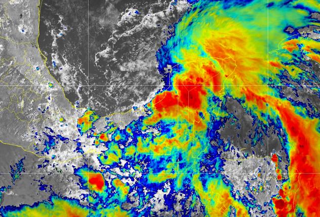 Tropical Depression Cristobal