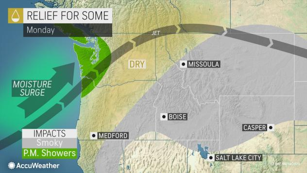 Smoke from west coast wildfires now stretching into GTA