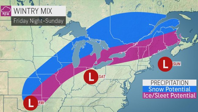 Winter storm to encase 1,700-mile stretch of US in ice, snow