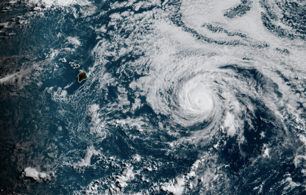 Hurricane Douglas: Hawaii prepares for high winds, rain and storm surge