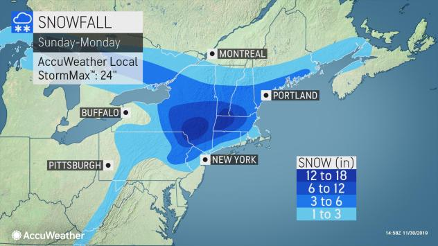 Winter Storm Expected to Delay Travel Across Country on Sunday After Thanksgiving