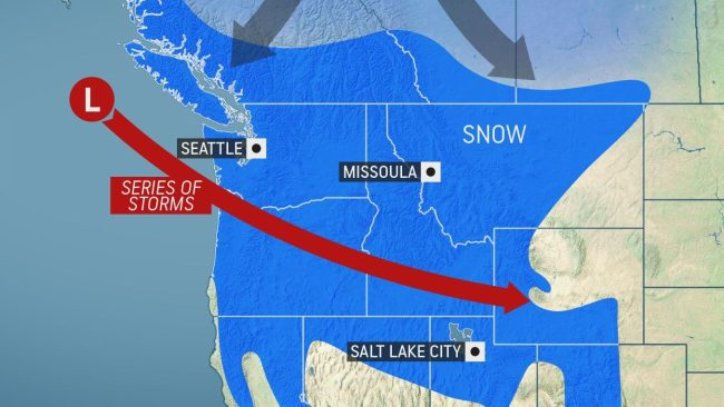 Accumulating snow likely for Seattle, Portland as new storm clashes with bitterly cold air