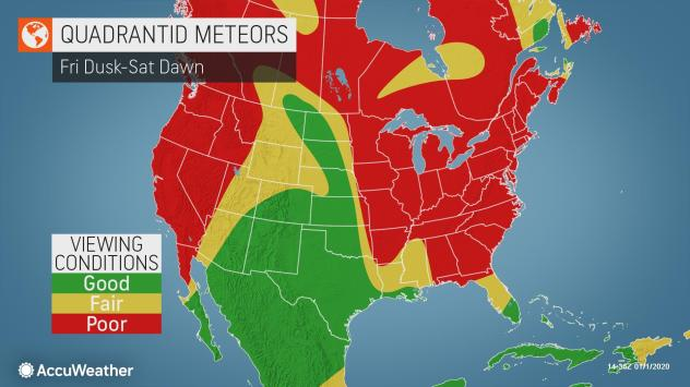 Quadrantid meteor shower to light up night sky this weekend