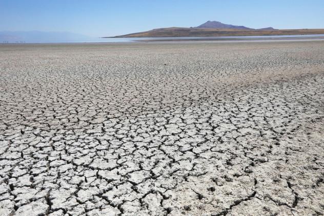 Utah desert heat