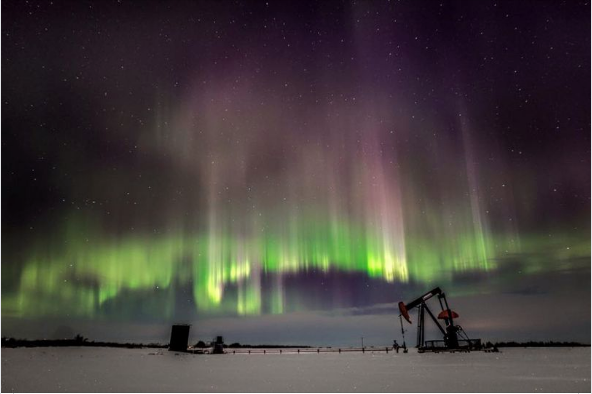 The northern lights may be visible in Wisconsin Monday night
