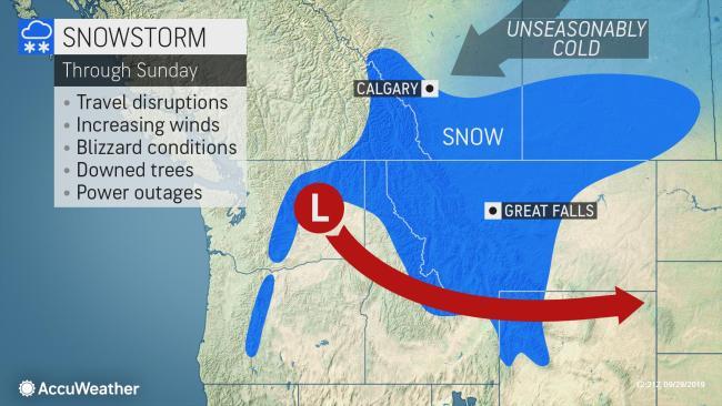 Winterlike storm unleashing feet of snow, life-threatening conditions in northwestern US