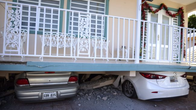 Puerto Rico rattled by second damaging earthquake in 24 hours