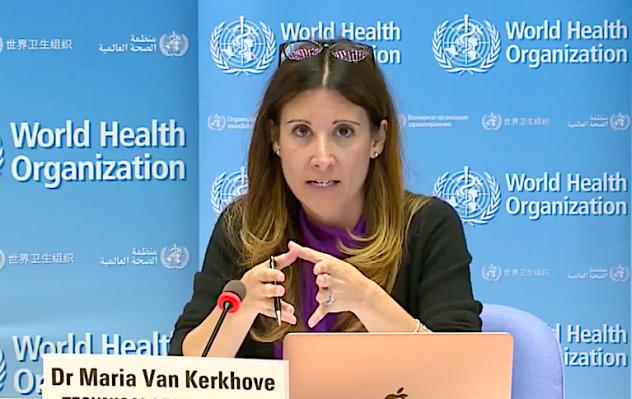 Dr. Maria Van Kerkhove WHO