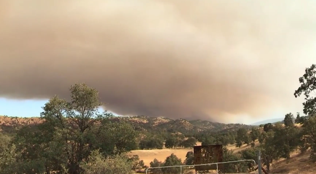 Gusty winds to fuel wildfire concerns in California into early next week