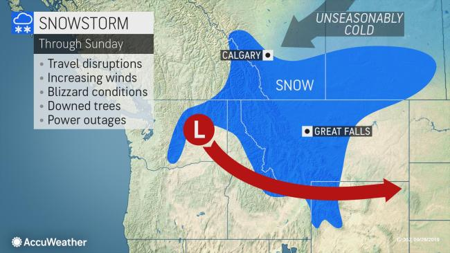 Winterlike storm to unleash feet of snow, life-threatening conditions in northwestern US