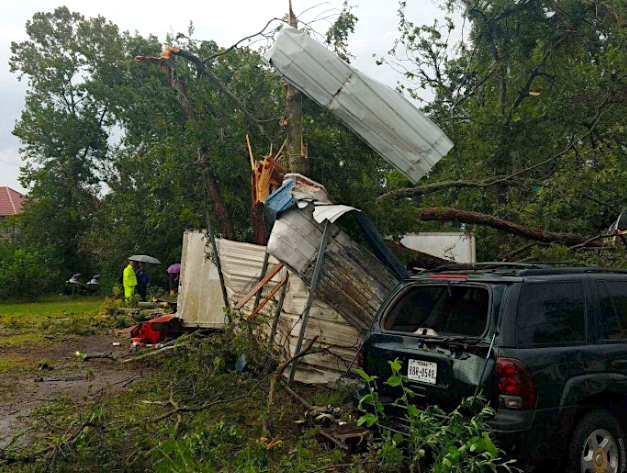 11:07 a.m. Thursday Galveston nearly tripled its single-day rainfall record on Wednesday thanks to Imelda's torrents. The coastal Texas town that has a long history of tangling with tropical storms and hurricanes shattered its previous daily record of 2.47 inches with 6.17 inches on Wednesday -- exactly 40 years to the day.