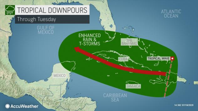 Tropical development possible in the Gulf this week