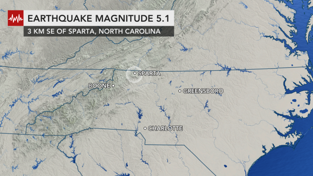 Strongest natural disaster  in 100 years jolts the Carolinas, Virginia