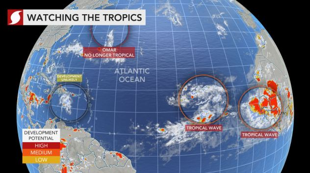 Tropical Depression Rene expected to regain tropical storm status
