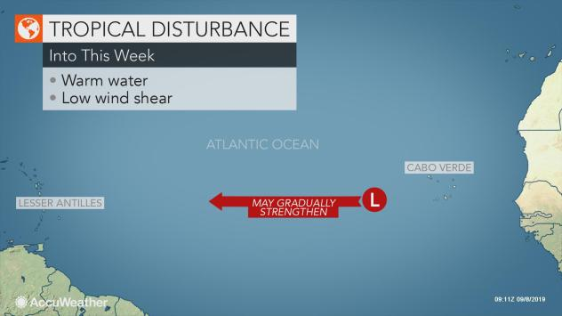 Forecasters monitoring several areas for tropical activity in the Atlantic this week