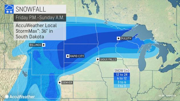 Storm to produce widespread snow, blizzard conditions in ...
