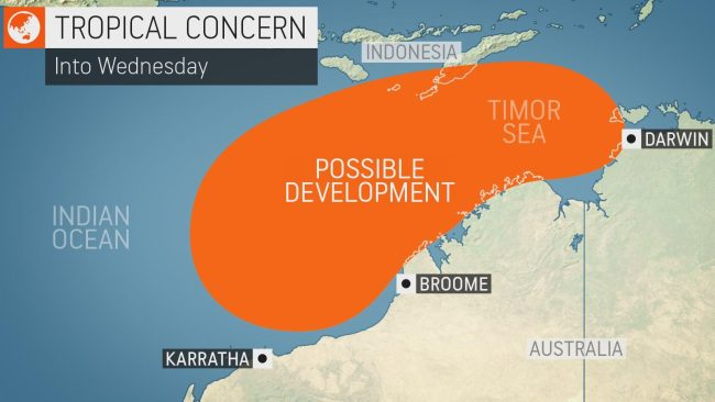 Tropical cyclones likely to become another weather worry for Australia amid bushfires