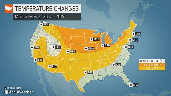AccuWeather Long-Range Forecast