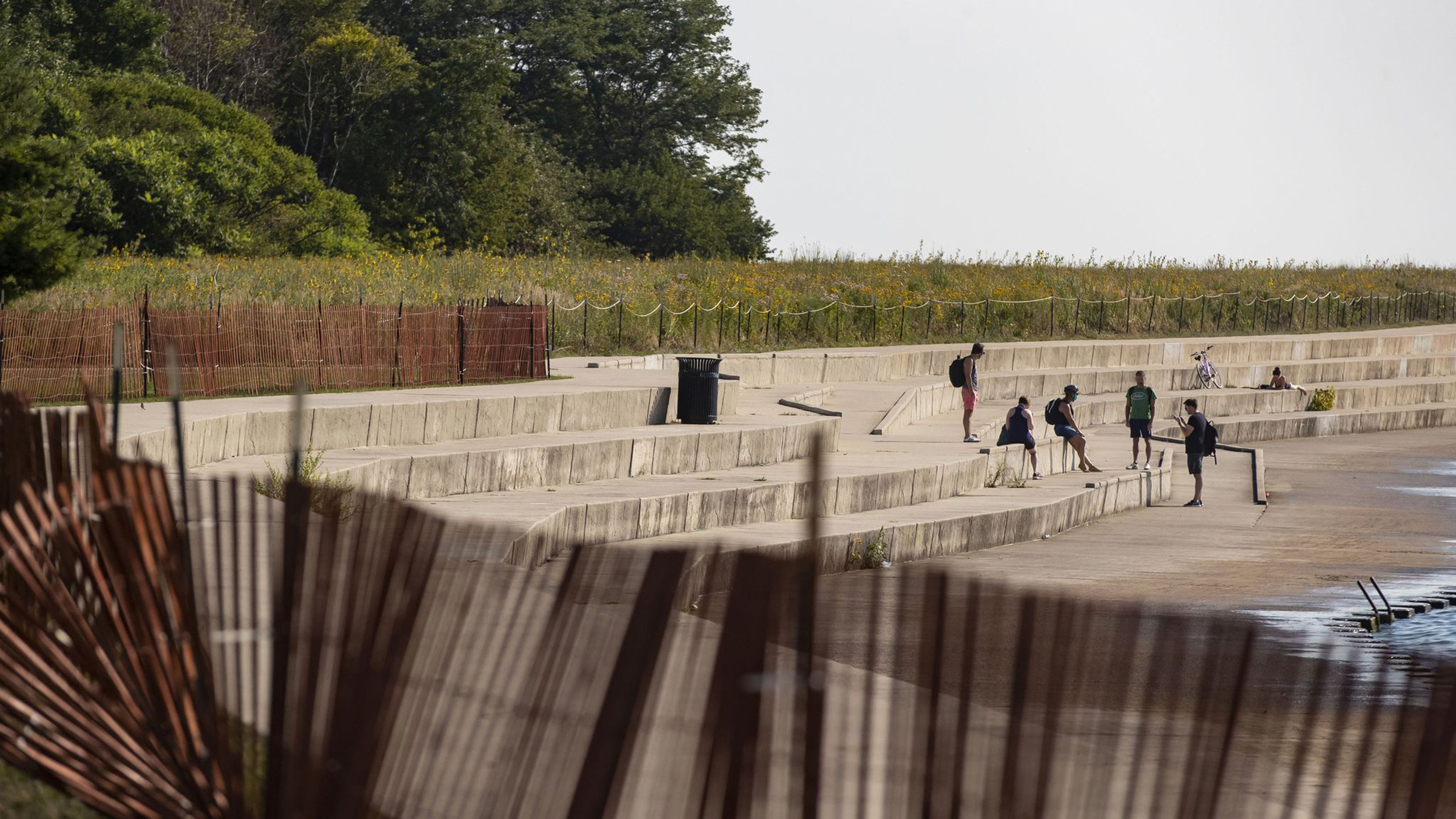 Chicagos Montrose Harbor blocked by police, fence after Mayor Lori Lightfoot shuts down large beach party: Its being addressed