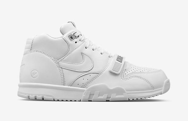 "3628c61f5ac ... A Complete Guide to This Weekend s Sneaker Releases. fragment design x  Nike Air Trainer 1 Mid ""Grand Slam"" Collection"