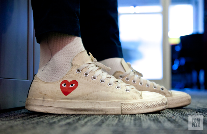 cdf808139c6c Comme des Garcons Play x Converse Chuck Taylor All-Star