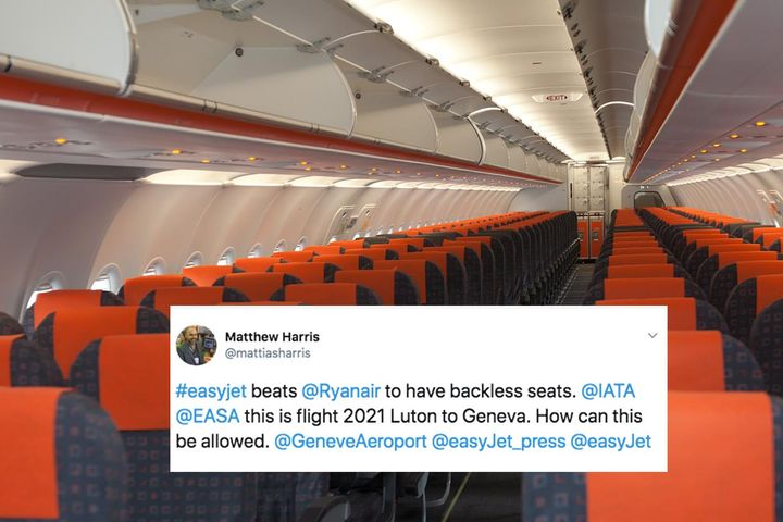 Dont believe that viral tweet about the backless seats on the EasyJet flight