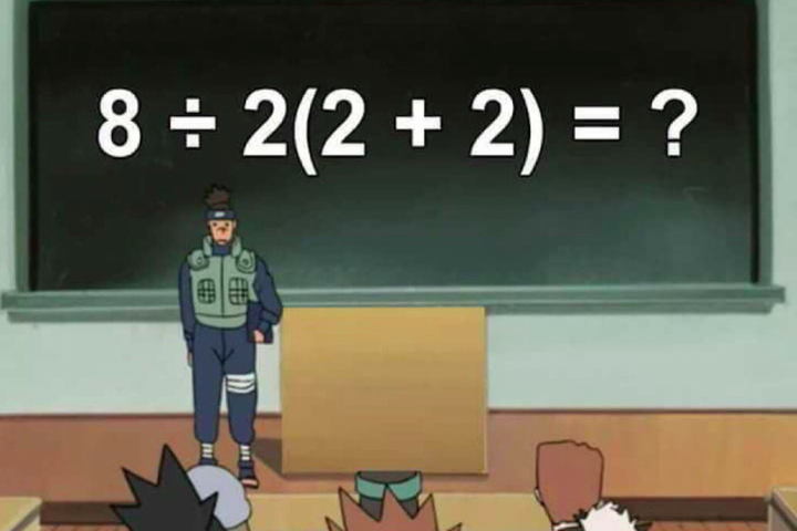 This math equation is dividing the internet, and no one can agree on an answer