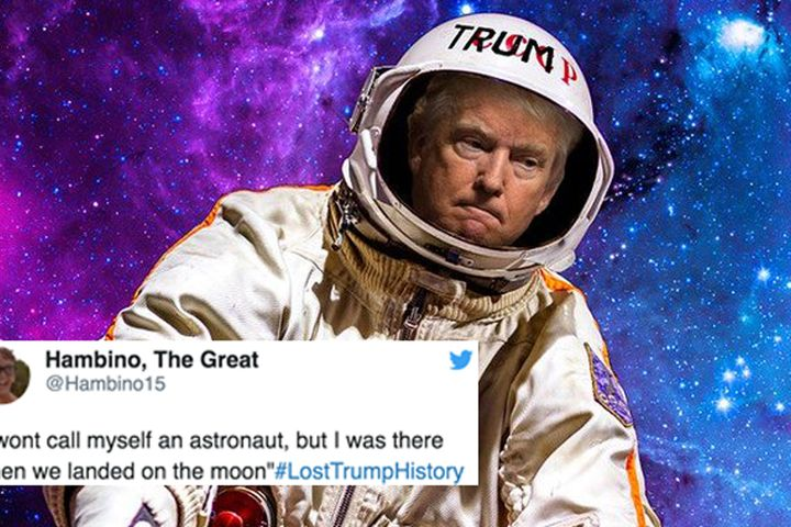 #LostTrumpHistory trends as the internet mocks Trumps 9/11 comments