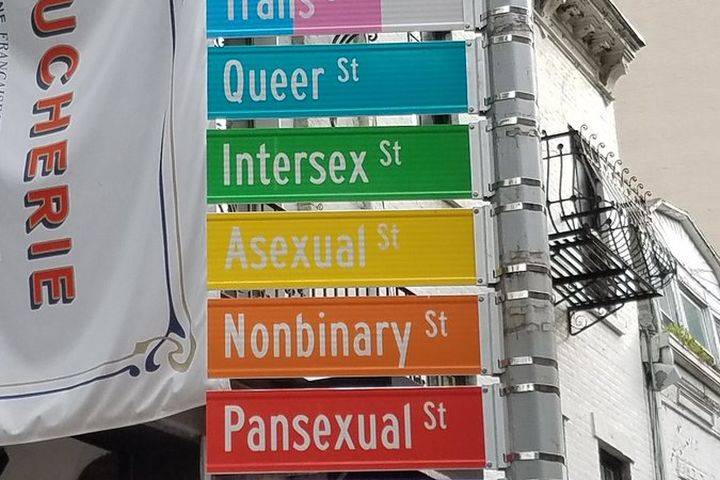 The new and improved Gay Street sign is all over NYC Pride Twitter