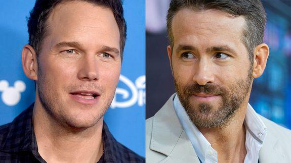Ryan Reynolds and Chris Pratt trade blows on Twitter over their fantasy football league