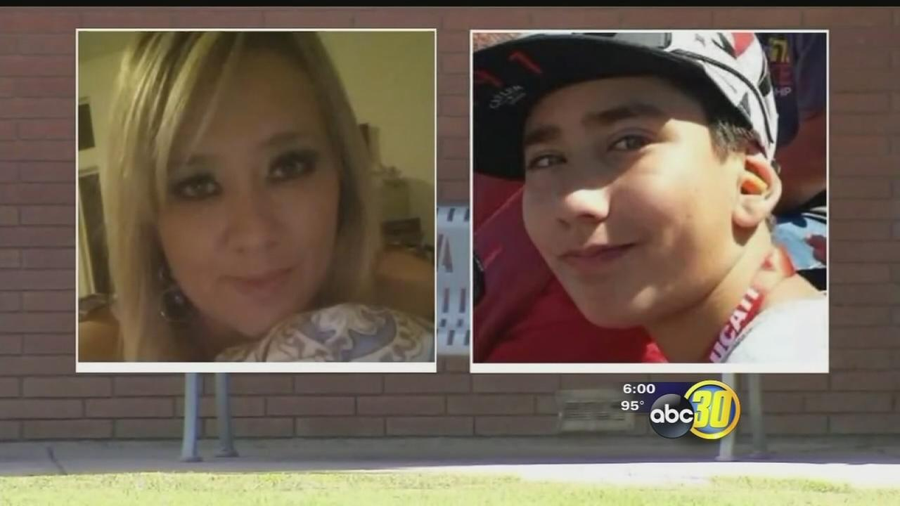 Community mourning after a crash in Merced County kills Merced teacher and  her son
