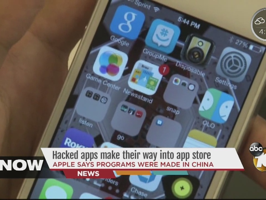 Hacked apps make their way into app store [Video]