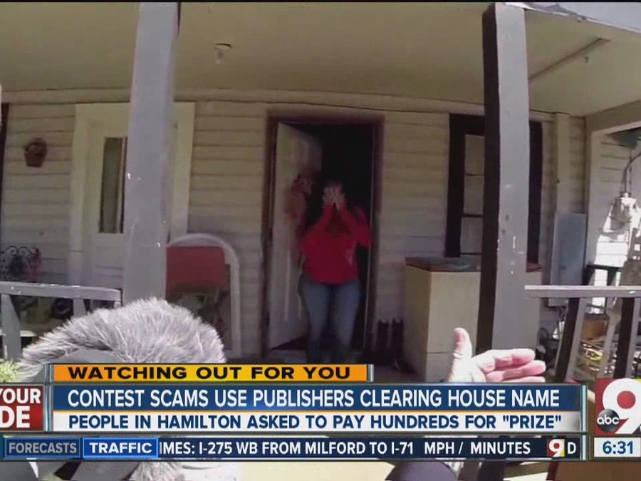 New scam uses Publishers Clearing House as front