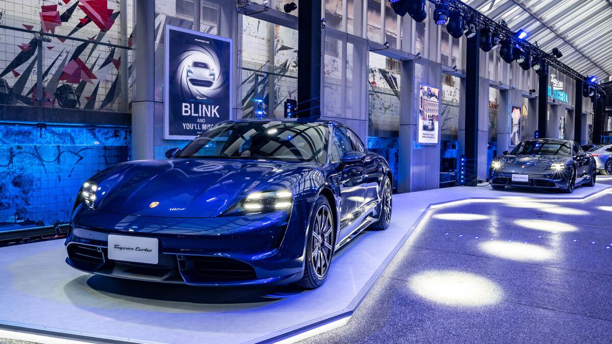 Porsche Taycan 純電跑車正式登台,三車型 473 萬起