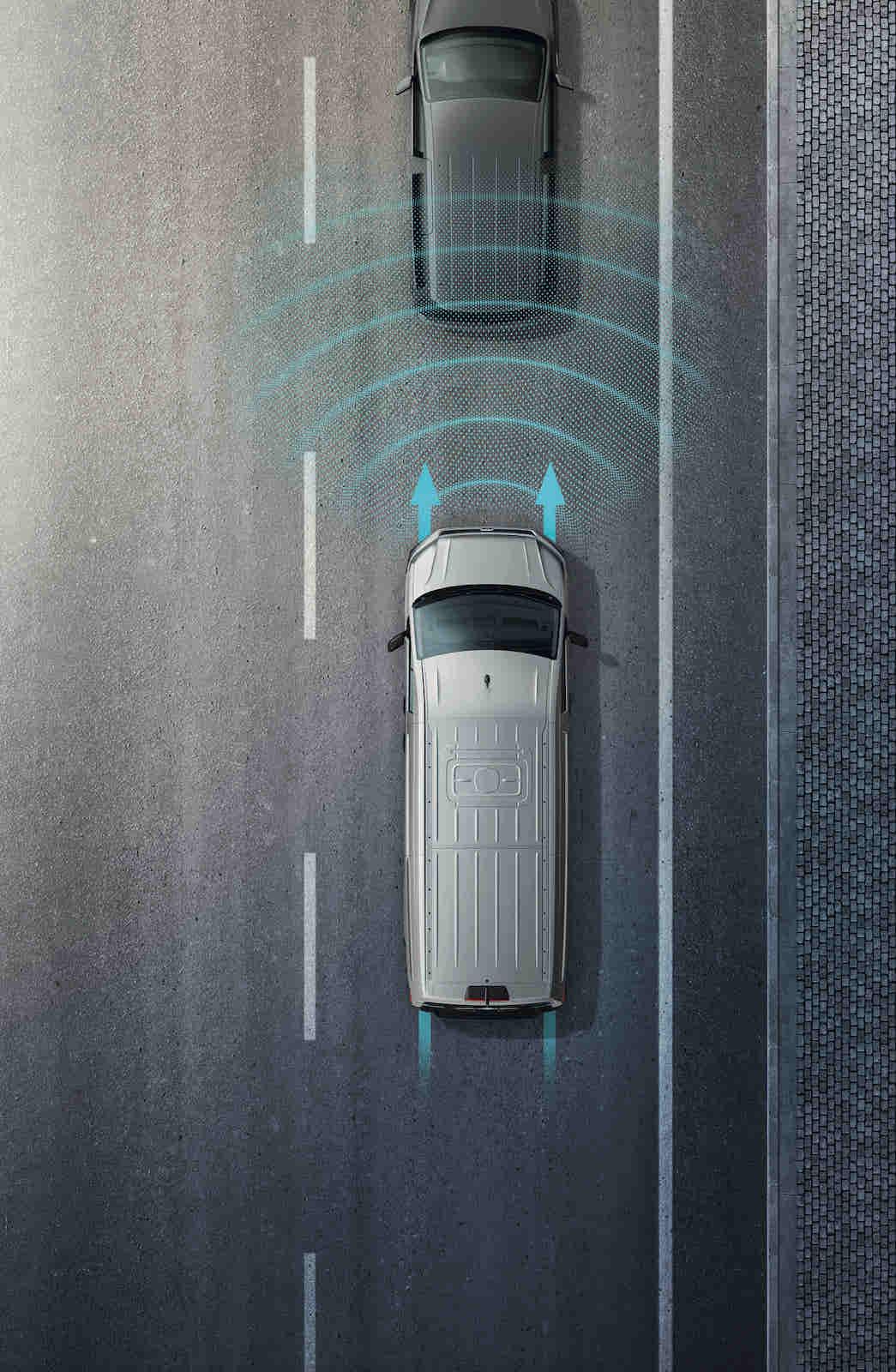 ACC 主動式車距調節巡航系統。
