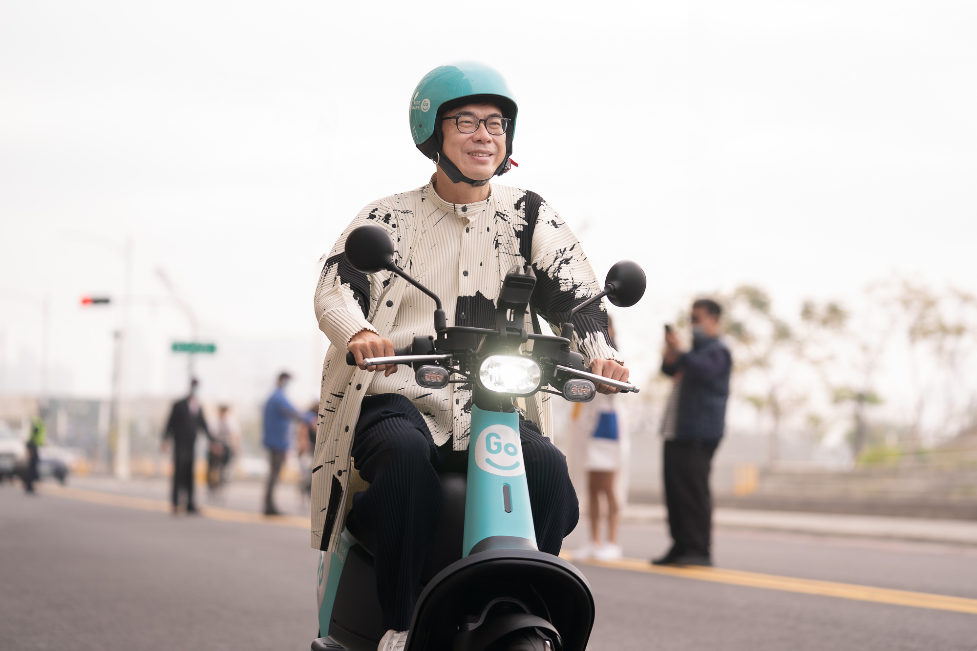高雄市長陳其邁及 GoShare。