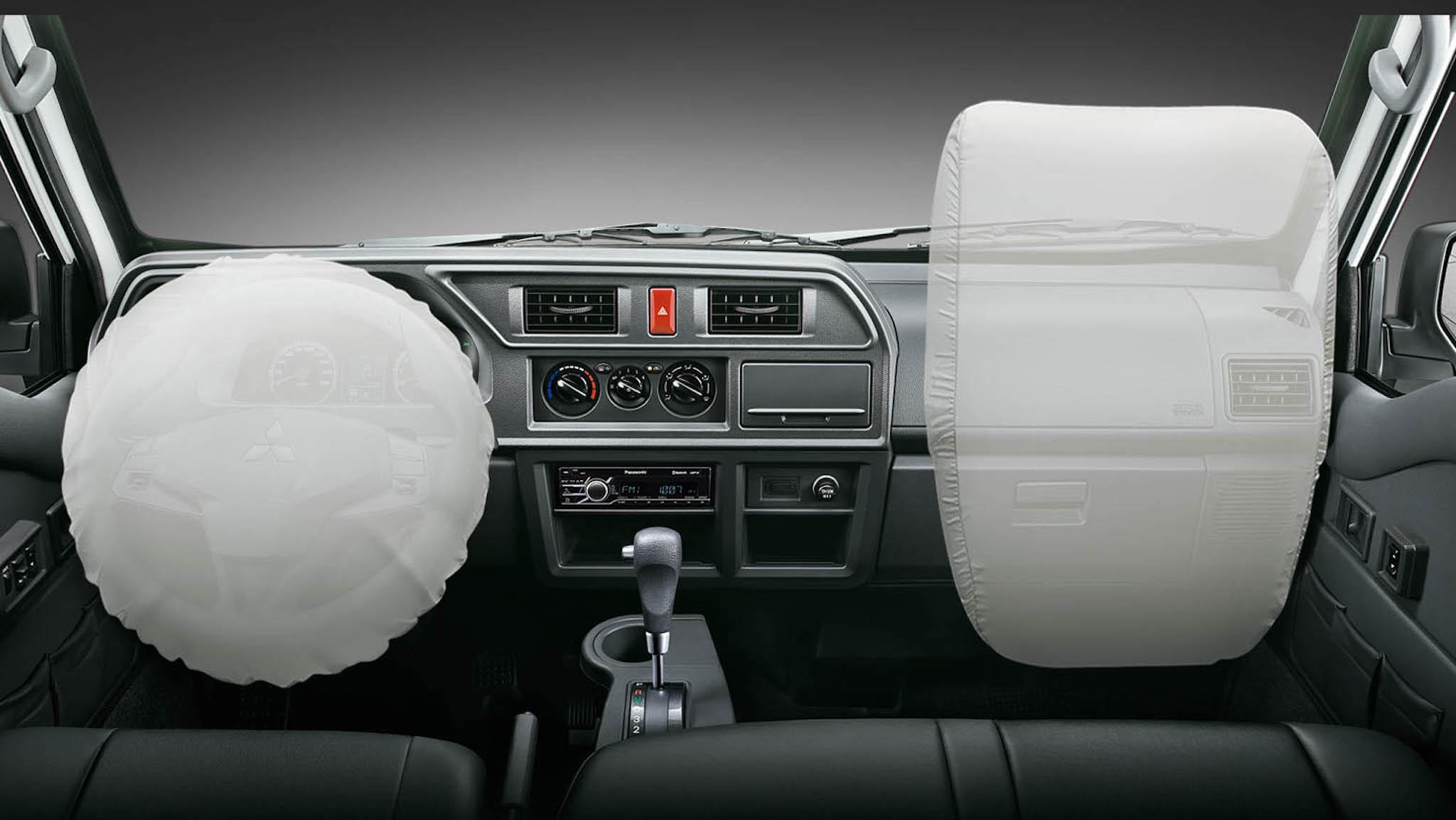 得利卡貨車推出雙安全氣囊車型。