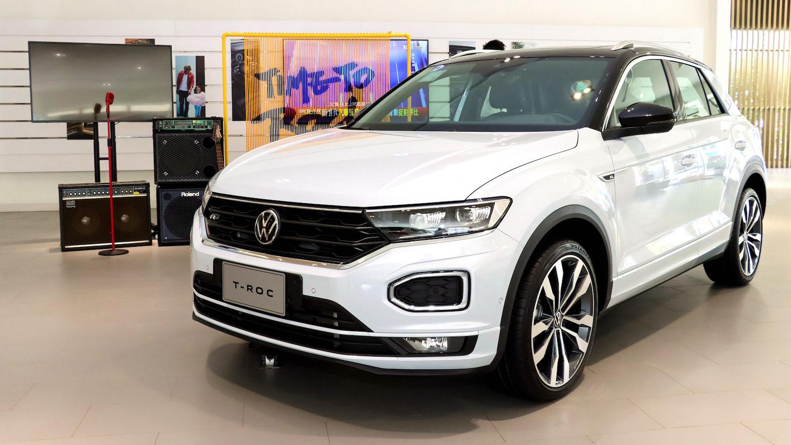 Volkswagen T-Roc 上市前最後賞車機會,展車資訊看這裡