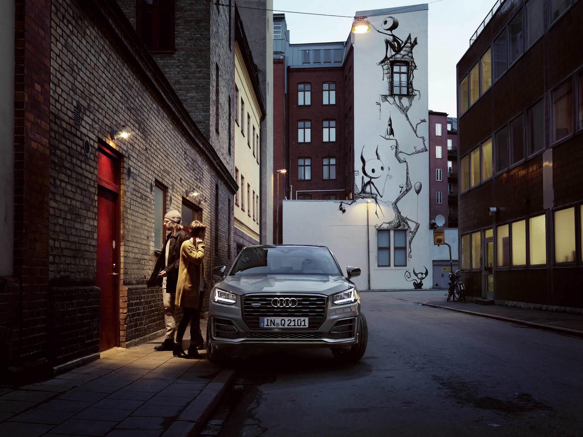 Audi Q2。