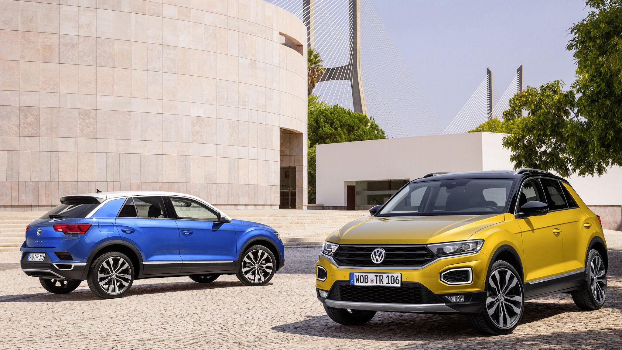 Volkswagen T-Roc 雙車型登場,限量預售 112.8 萬元起