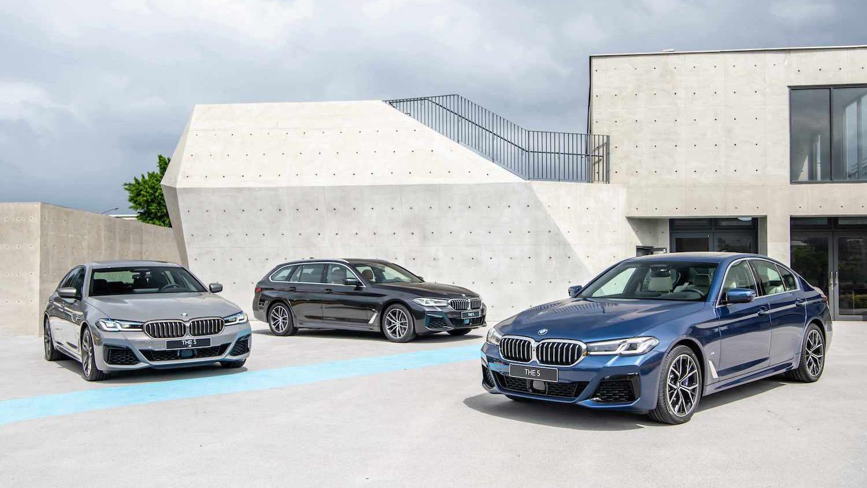 小改款 BMW 5系列輕油電上身,6 車款 265 萬起開賣