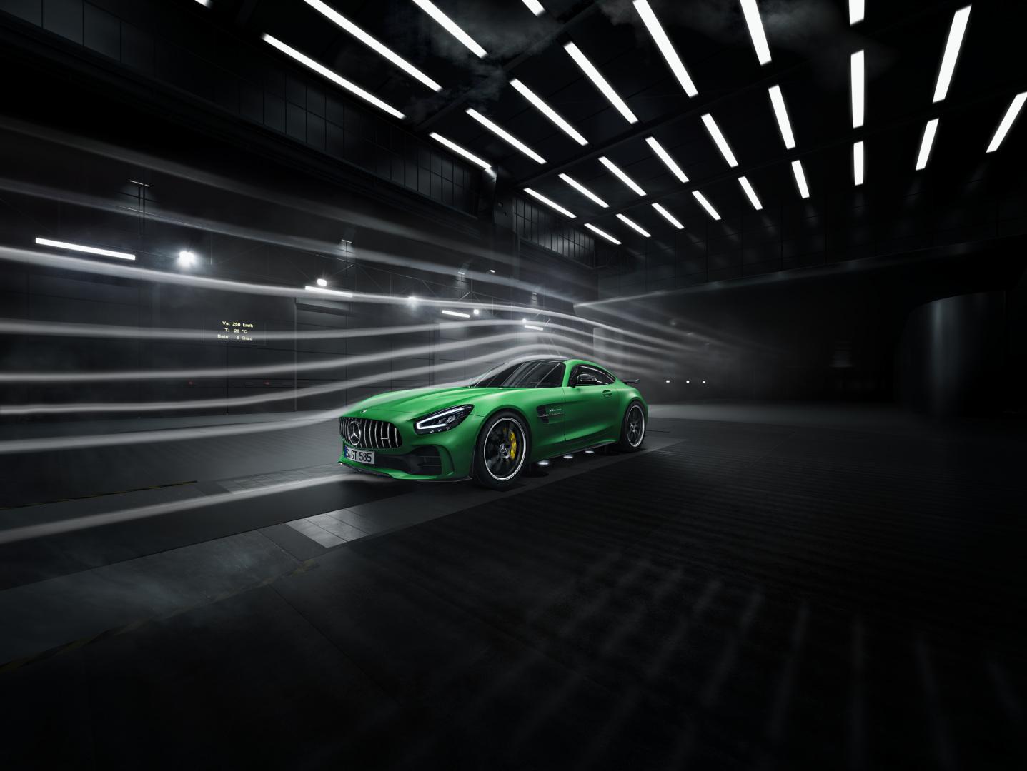 取自賽道經驗,AMG GT、GT R 車身設計導入空氣力學應用。