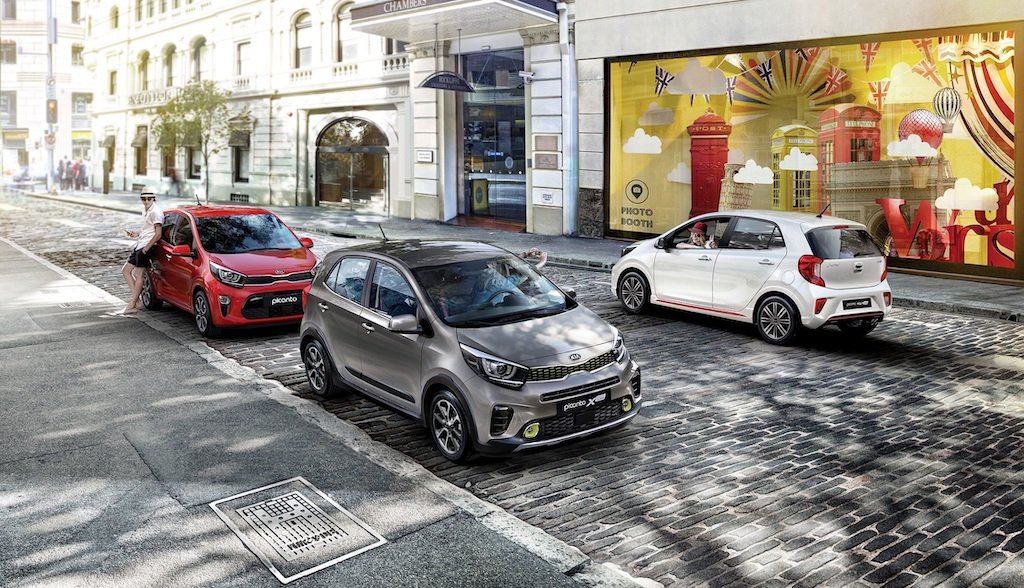 Kia Picanto 本月推出嘗鮮價 49.9 萬起,並享低頭款 2.2 萬、低月付 7,288 元起的專屬優惠。