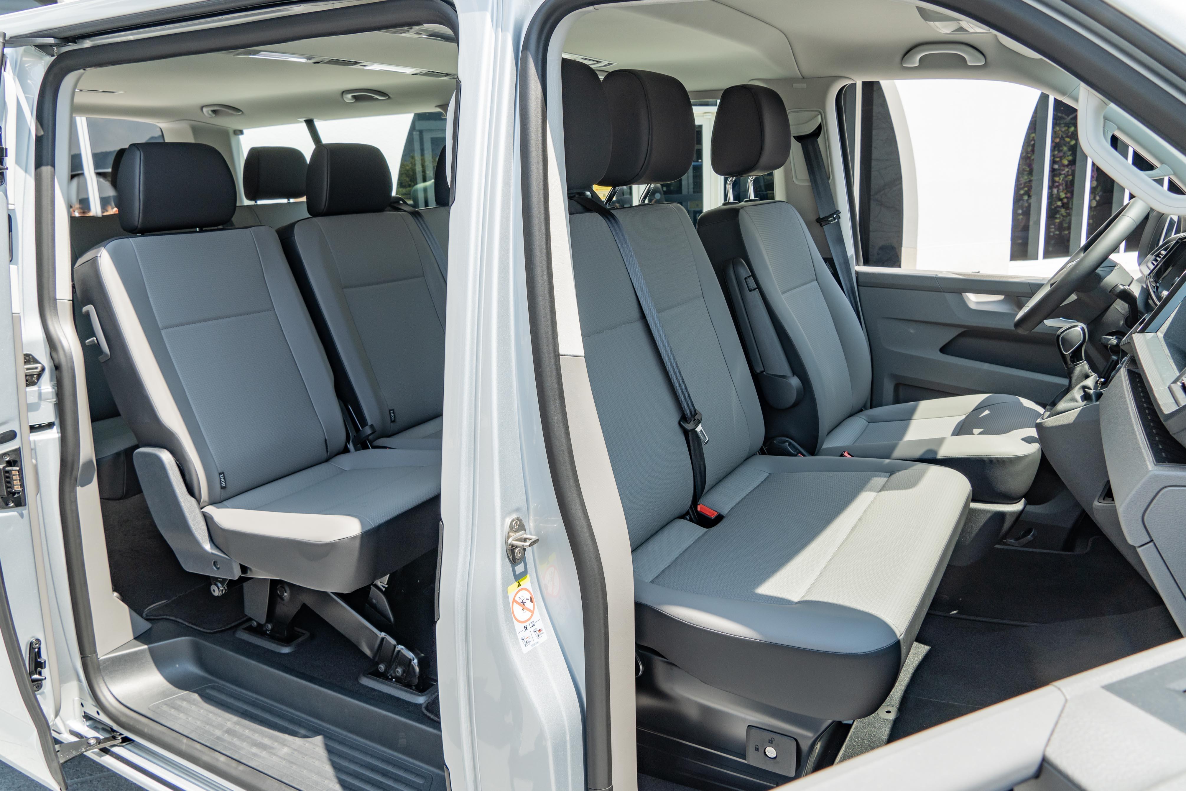 T6.1 Caravelle 提供豐富的座椅排列組合。