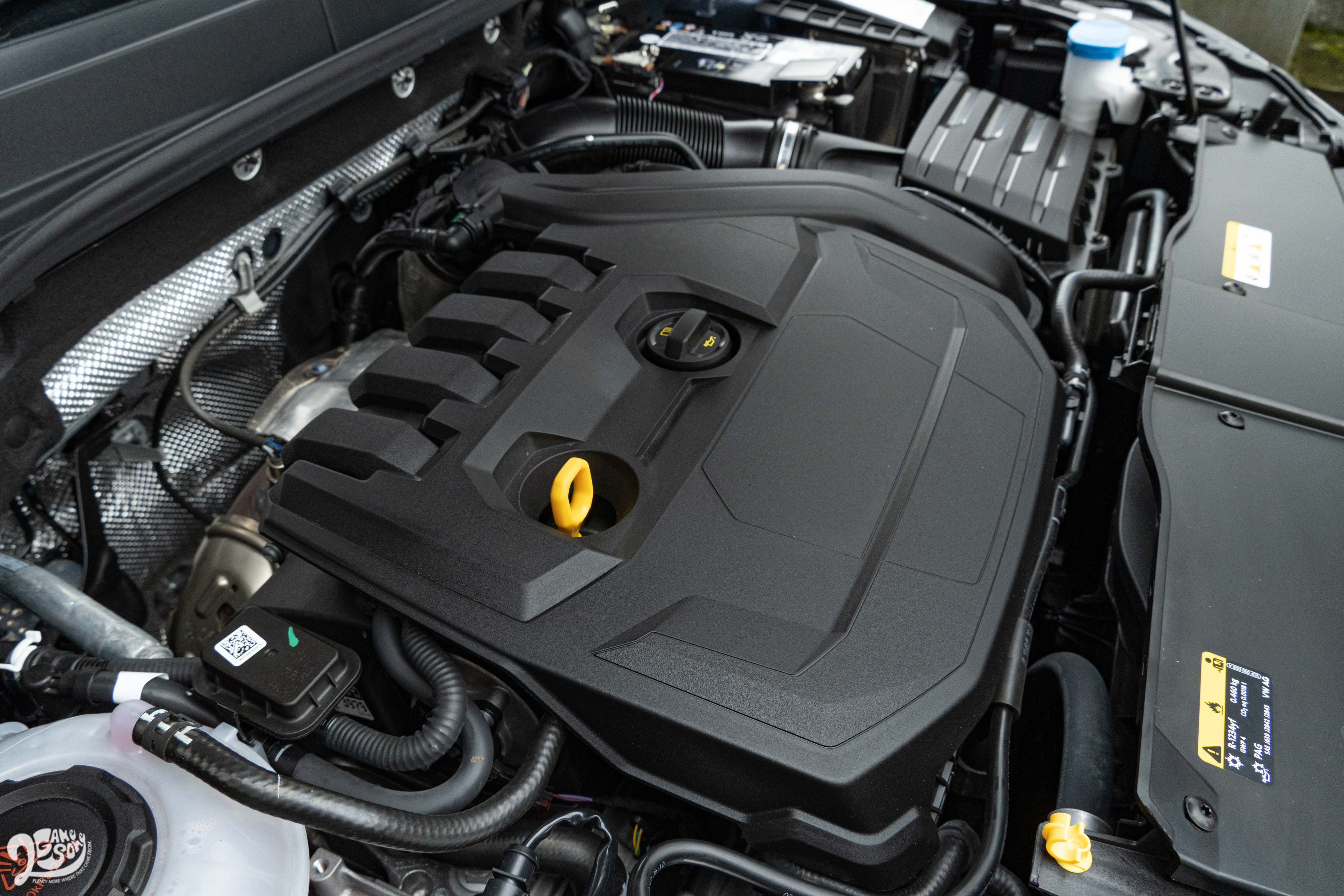 搭載原廠代號 EA211 evo 的 1.5 升渦輪增壓汽油引擎,具備150ps/5000~6000rpm 最大馬力與 25.5kgm/1500~3500rpm 最大扭力輸出。