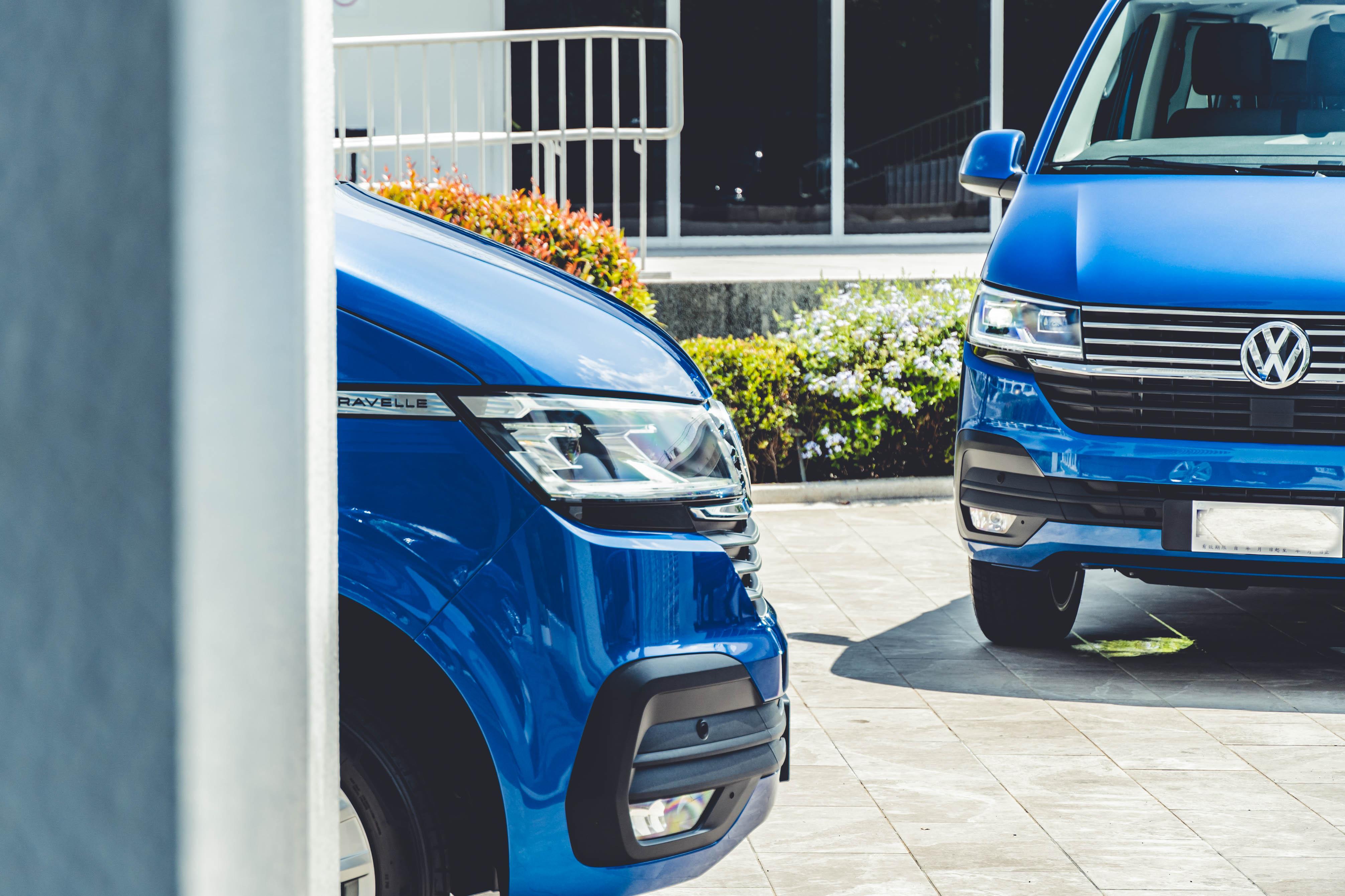 VWCV T6.1 Caravelle 以五車型販售,售價 140.3 到 210.8 萬元。