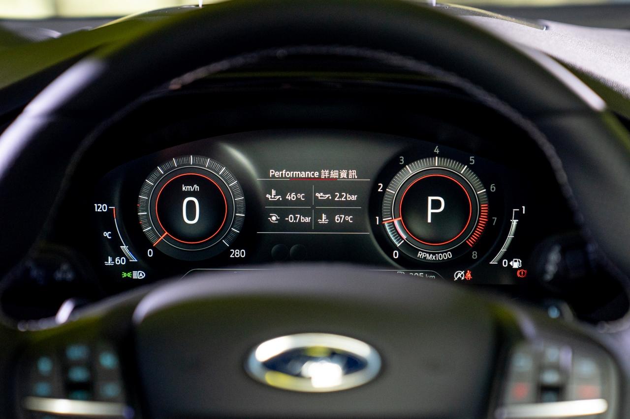 20.75 年式 ST 車系將升級 12.3吋全彩液晶智慧多功能儀表、ISA智慧型速限輔助系統,以及後座後廂取物孔。