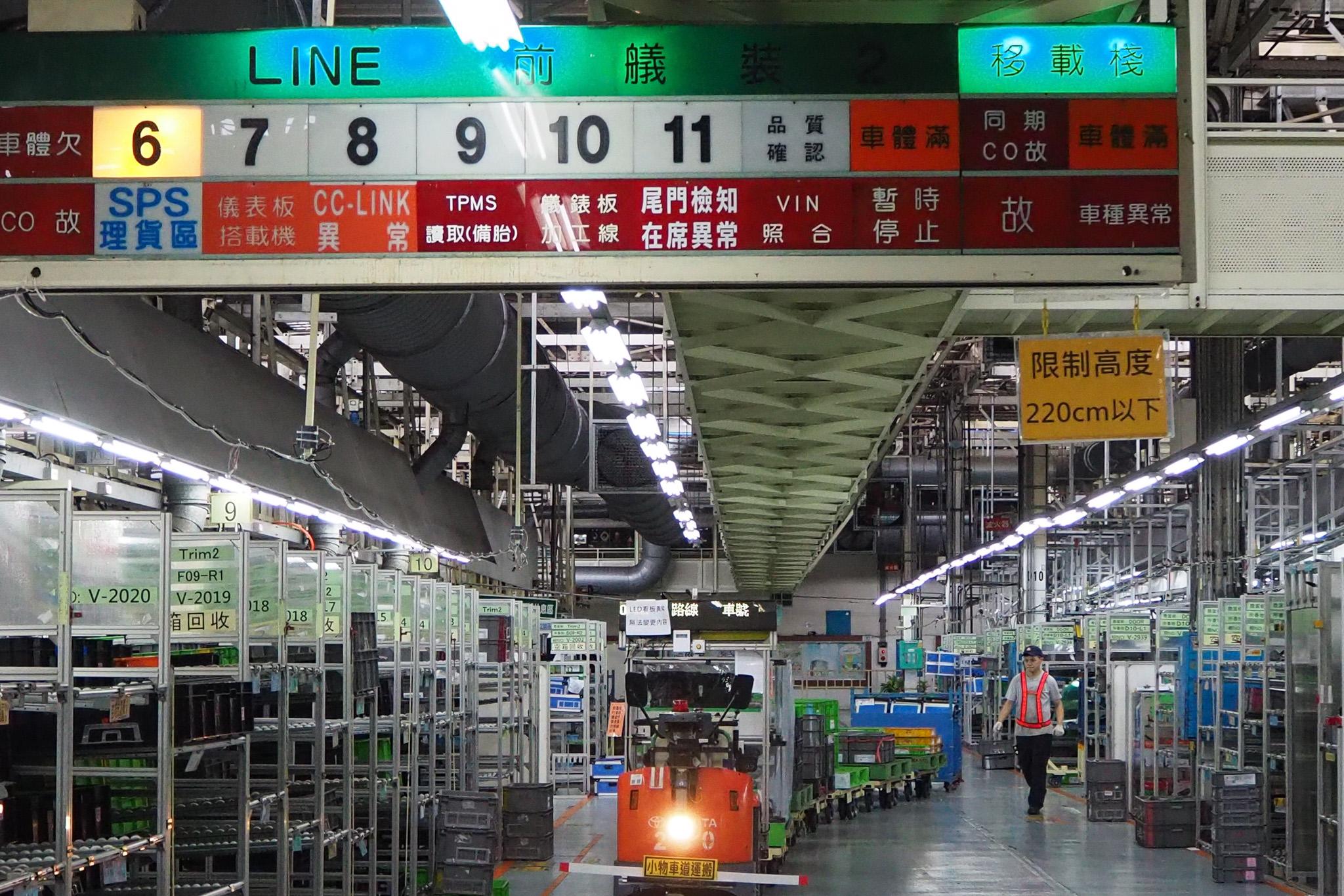 透過電子看板顯示,有效掌控生產線的即時狀況。