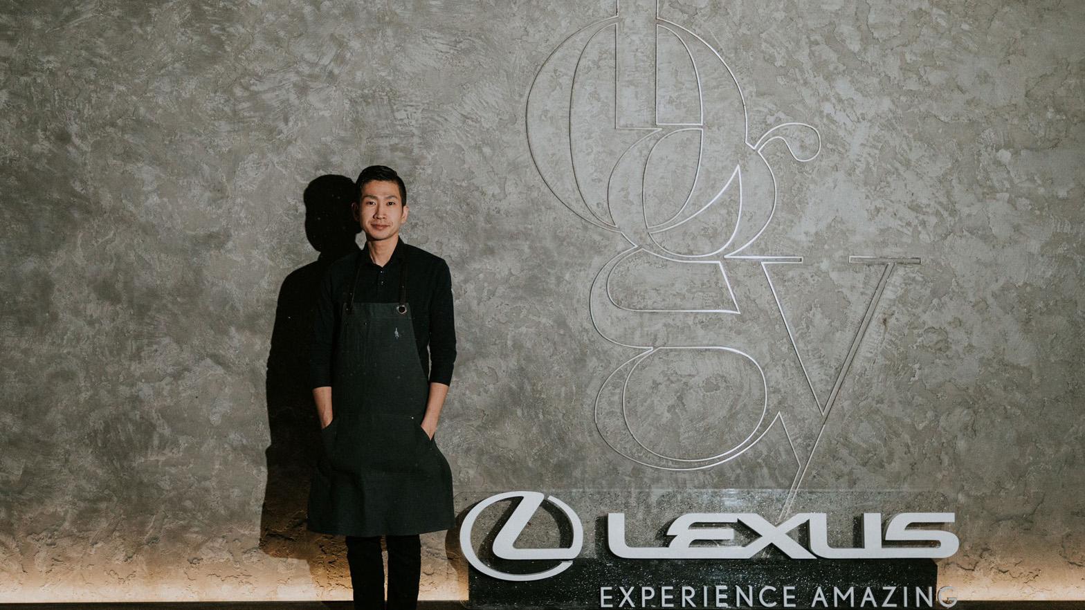二星餐廳logy田原諒悟主廚打造 Taste by Lexus 活動。